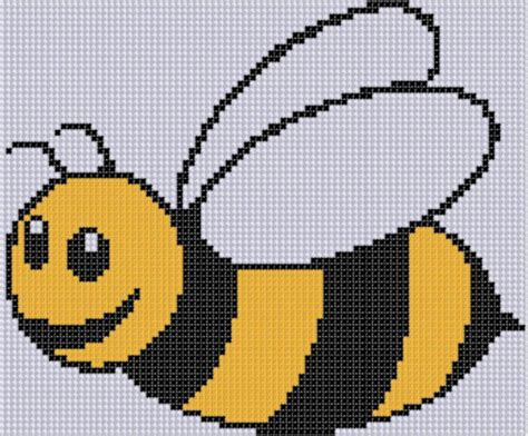 pattern in cross stitch bee cross stitch pattern by motherbeedesigns craftsy