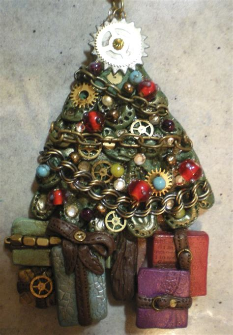 diy punk christmas steunk jewelry keepsake crafts