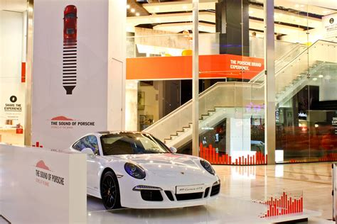 Shop Porsche by The Sound Of Porsche Multi Sensory Pop Up Store Launches