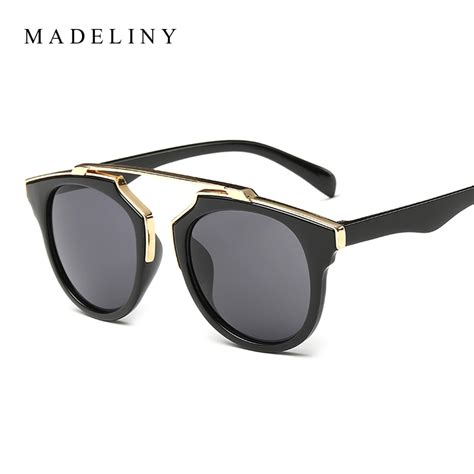 New Sungglases new fashion cat eye sunglasses brand designer vintage sun glasses uv400 glasses