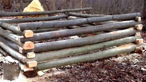 building a log cabin part 2 building a log cabin