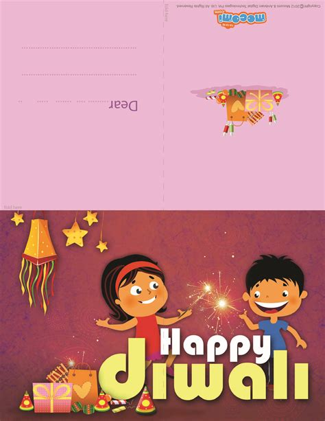 printable diwali gift cards happy diwali diwali greeting card for kids mocomi