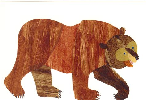 brown bear brown bear eric carle postcards the eric carle museum of picture book art