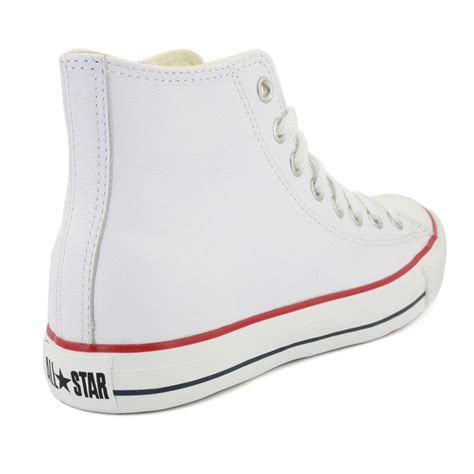 converse all leather 132169c unisex laced leather