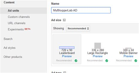 adsense lab how to easily add google adsense in your blogger blog my