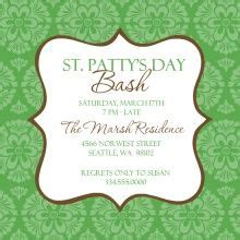 1000 Images About Party Flyer On Pinterest Flyers Party Flyer And St Patrick S Day St S Day Invitation Template