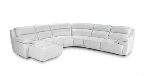 780 modern white italian leather sectional sofa