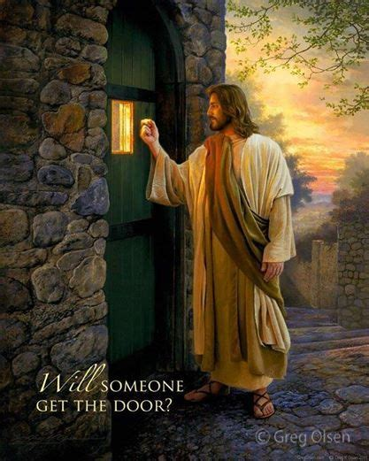 Free Picture Of Jesus Knocking At The Door by Jesus Knocks At The Door Of Your
