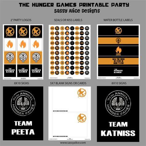 printable hunger games 113 best hunger games party images on pinterest
