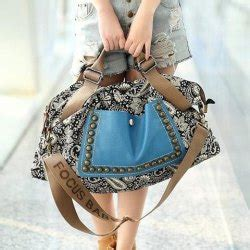 Pre Order Mis Zapatos Ethnic Sandal Tote ethnic style rivets and splice design s tote bag nastydress