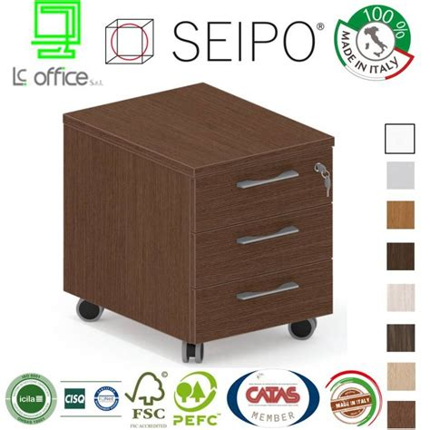 cassettiera per scrivania cassettiere per scrivania royal in legno certificata