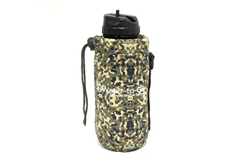 porte leader porte gourde isotherme outdoor camou water to go