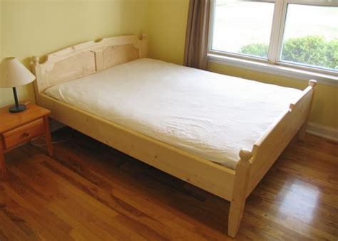 queens size bed building a queen size bed