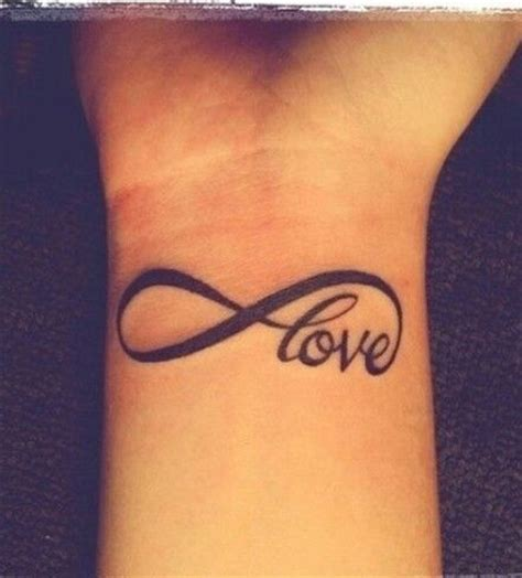 one love wrist tattoos 17 best ideas about infinity wrist tattoos on