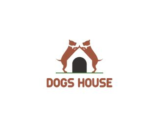 dog house logo dogs house designed by mds brandcrowd