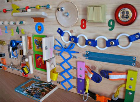 busy toys busy board childrens activity sensory wooden