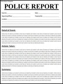 Sample Police Report Template 688 Best Images About Best Legal Forms On Pinterest