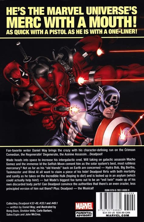deadpool by daniel way the complete collection volume 1 deadpool 2008 intc03 the complete collection by daniel