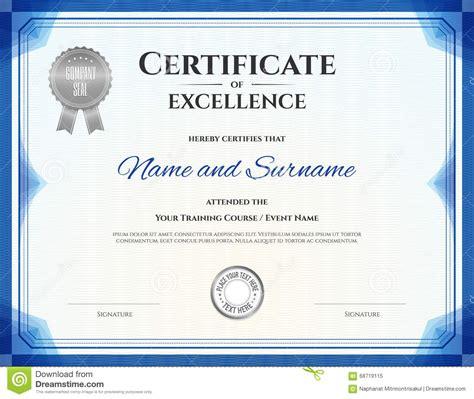 academic certificate templates free manual