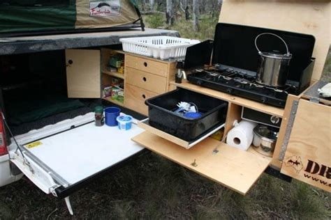Camper Trailer Kitchen Ideas by Camper Trailer Kitchen Designs Built Tough Trailer
