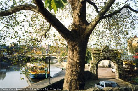 Medway Gardens by Maidstone River Medway From Palace Gardens 2004 Francis