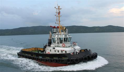 tugboat length 26 m length damen stan tugboat 2608 with 47 t bollard pull
