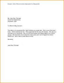 Templates Of Letters Of Recommendation by 10 Exles Of Letters Of Recommendation Quote Templates