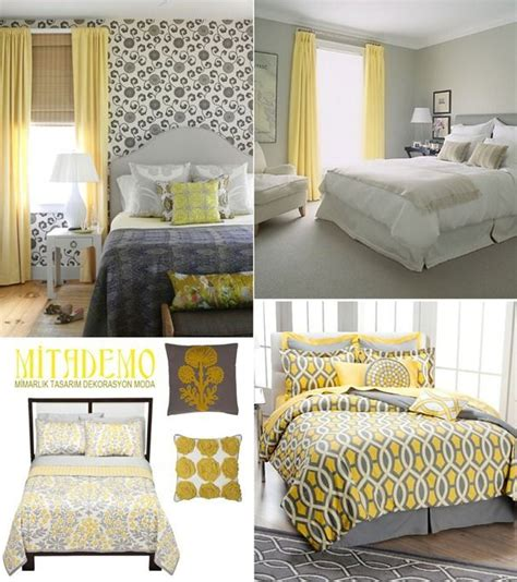 yellow and gray bedroom decor ideas gopelling net