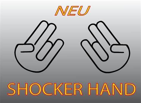 Auto Aufkleber Hand by Shocker Hand Aufkleber Und Jdm Shocker Hand Autoaufkleber