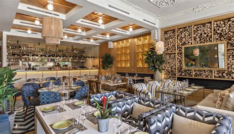 Restaurant Interior by Restaurante Habanera Madrid