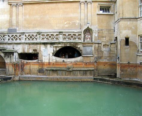 romans in bathroom the roman baths in bath england
