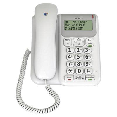 tesco mobile telephone number buy bt d 233 cor 2200 corded home phone from our corded