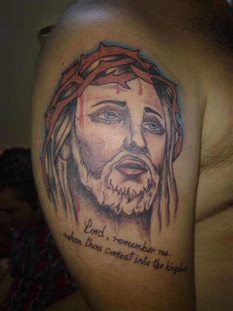 jesus head tattoo designs 39 religious christianity tattoos