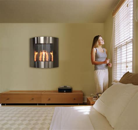 Fireplace That Hangs On Wall by Wall Hanging Fireplaces Fireplaces