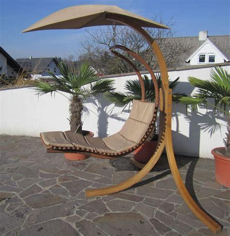 Hängematte Mit Gestell Und Sonnendach by Design H 228 Ngeliege Navassa Mit Gestell Aus Holz L 228 Rche