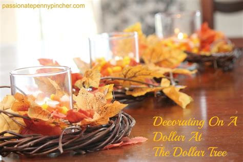 Decorating at the dollar tree passionate penny pincher