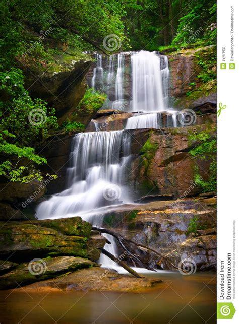 cascadas con 225 rboles imagui paisaje de la naturaleza de las cascadas en monta 241 as