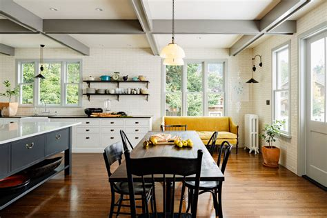 kitchens with couches victorian kitchen jessica helgerson interior design