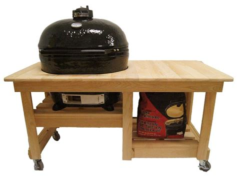 primo oval 400 xl ceramic smoker in cypress table top