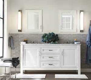 White Vanity Grey Tile Bathroom Beautiful Mosaic Bathroom Back Splash Tiles