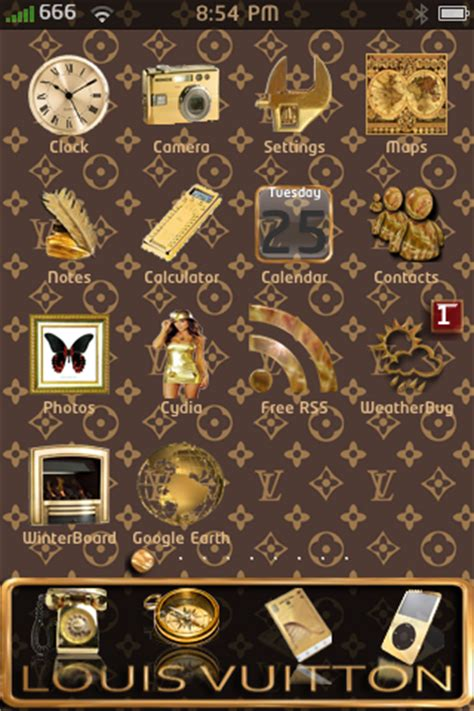 louis vuitton themes for iphone 5 666 iphone themes louis vuitton theme by 666