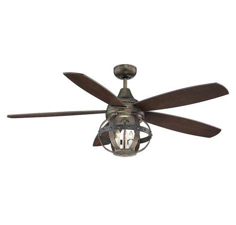 5 blade ceiling fan 52 wilburton 5 blade ceiling fan with remote farmhouse