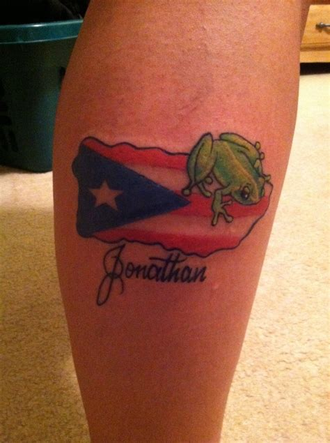 puerto rico tattoos designs flag designs