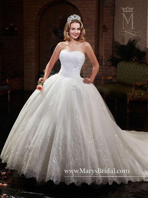 S Wedding Dresses by Marys Bridal 6374 Tulle Royal Wedding Dress