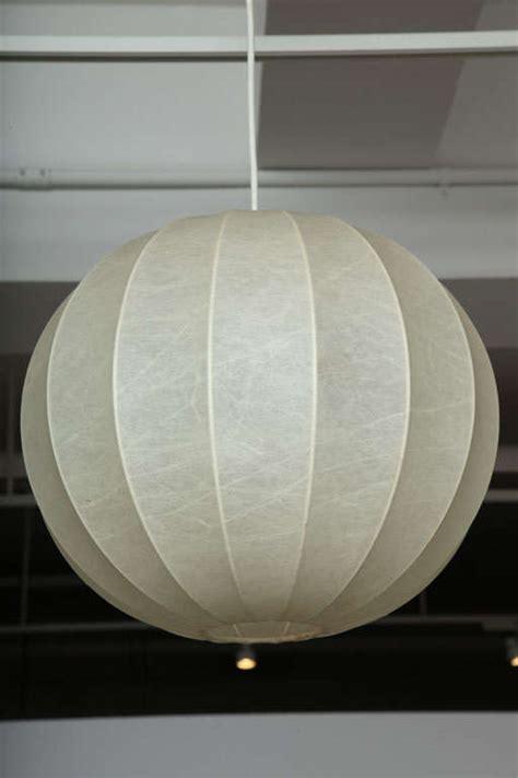 Sphere Lighting Fixture Vintage Sphere Pendant Light Fixture By Achilles Castiglioni At 1stdibs