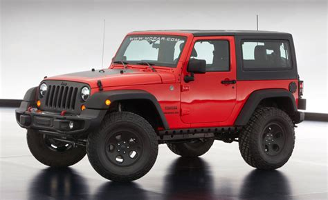 Jeep Generation Next Jeep Wrangler To Be Inspired By 2013 Moab