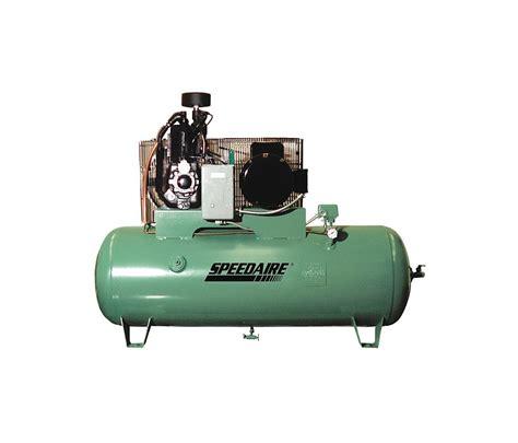 speed aire  hp  gallon horizontal air compressor
