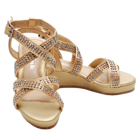 link gold studded heeled dress shoe