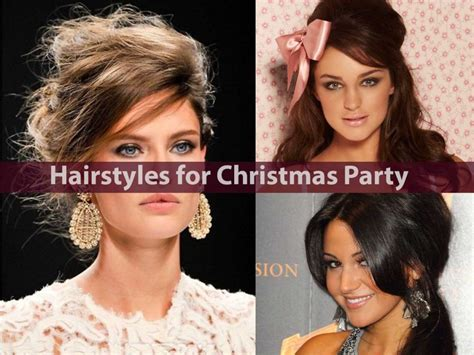 hairstyles for holiday party hairstyles for christmas party easy hairstyles