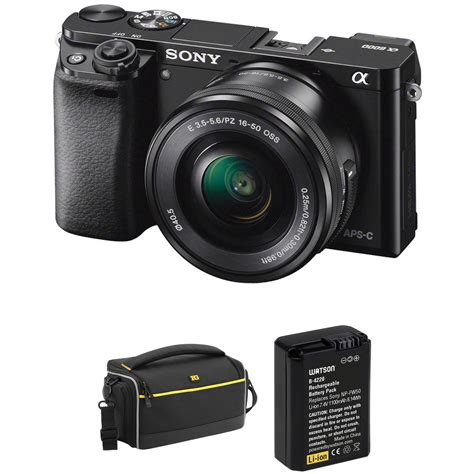 sony mirrorless sony alpha a6000 mirrorless digital with 16 50mm